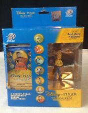 NEW Disney Pixar Treasures Cards 4 Pack Upper Deck w/ Collectible WOODY Figure
