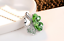 Collana-Donna-Quadrifoglio-Cristallo-Charms-Swarovski-Portafortuna-Regalo-Top miniatura 5
