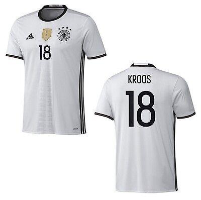 Trikot Adidas DFB 2016 2018 Home Kroos [128 bis 3XL] Fußball EM Deutschland | eBay