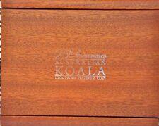2013-P Australia 25th Anniversary $50 1/2 oz Platinum Koala NGC PF70  Box & COA