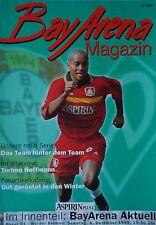 Programm 1999/00 Bayer 04 Leverkusen - Werder Bremen