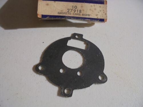 OEM Briggs /& Stratton Carburetor Body Gasket    Part # 27918