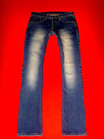 H&M JEANS FLARED JEANS HÜFTJEANS BLUE DENIM W27 L32 NEUW.!!! TOP !!!