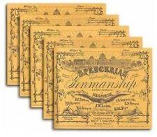 Spencerian Penmanship Set of 5 Copybooks by Platt R Spencer 9780880620956