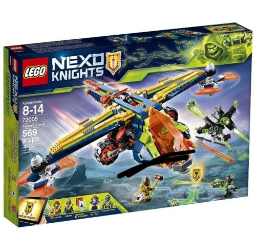LEGO NEXO KNIGHTS Aaron/'s X-bow 2018 72005