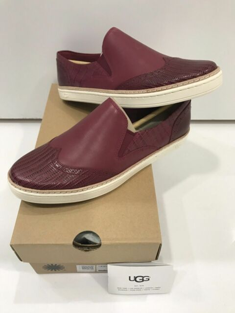 d912a8216801 UGG Australia HADRIA Croco Loafer Womens Slip on Sneaker Lonely Hearts Size  US 8