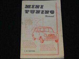 MINI-ELF-HORNET-TUNING-MANUAL-J-H-HAYNES-JANUARY-1964