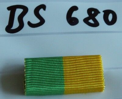Bandspange Wasserwacht Leistungsabzeichen golden 25mm zum Aufschieben BS541