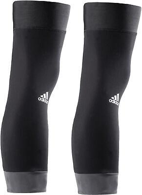 Aspirante Adidas Infinity Caldo Cycling Knee Warmers-nero-mostra Il Titolo Originale