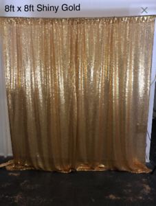 Shiny Sequin sequence Photo Backdrop Hand Made All Colors Available