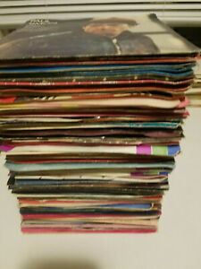 JUKE-BOX-Lot-of-100-Random-VG-45-rpm-Vinyl-Records