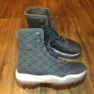0d3e062958f Details about Nike Air Jordan Future Boot Cool Grey White New Size 7.5  [854554-003]
