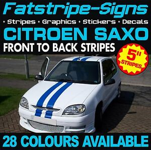 citroen saxo stripes car vinyl graphics decals stickers vtr vts 1 4 1 5 1 6 d. Black Bedroom Furniture Sets. Home Design Ideas