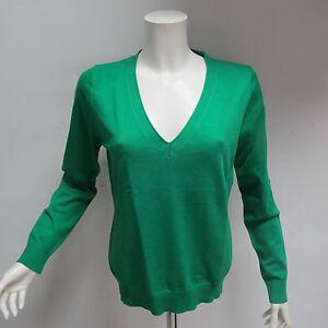 GANT-maglione-donna-COTONE-scollo-a-V-mod-485300-col-VERDE-tg-L-ESTATE-2011