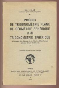 CH-PACE-PRECIS-DE-TRIGONOMETRIE-PLANE-GEOMETRIE-SPHERIQUE-TRIG-SPHERIQUE