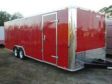 New 85x20 85 X 20 Enclosed Carhauler Cargo Trailer