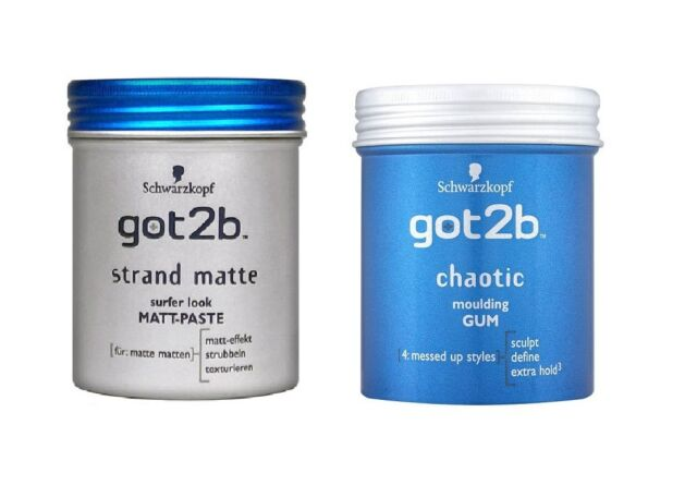 (69,90€/L) 100ml Schwarzkopf got2b Strandmatte Matt Paste Beach Matte oder Chaot