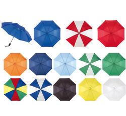Günstiger Regenschirm Taschenschirm viele Farben