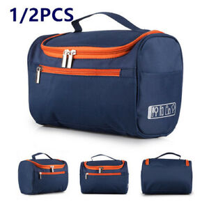 b19c4d5b8e07 Details about Extra Large Men Ladies Wash Bag Toiletry Make Up handbag  Hanging Travel Pouch UK