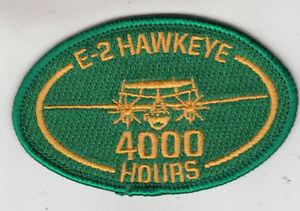 VAW-120 E-2 HAWKEYE 4000 HOURS OVAL PATCH | eBay
