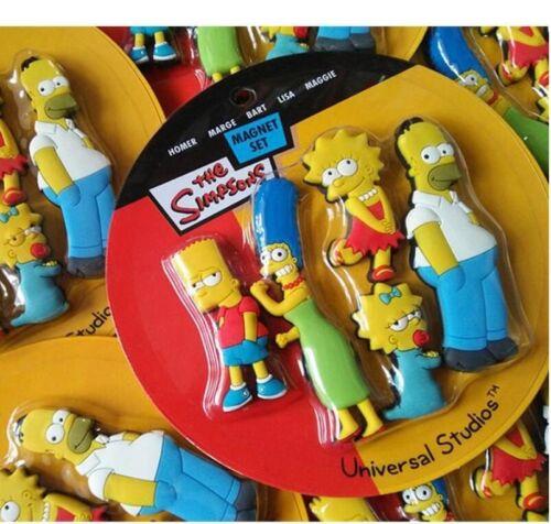 Homer Simpson cartoon creative fridge magnet early education Sticker home decor