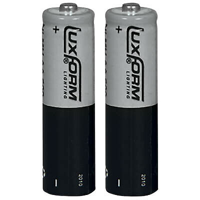 Luxform Lighting AA Rechargeable Battery - 600 mAH L-ion 3.2V - Pack of 2