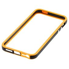 Stylish Orange/Black Bumper Case Protection Cover For Apple iPhone 4 4S 4G