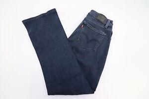 5b5e5bde Levis 529 Curvy Fit Bootcut Leg Womens Dark Wash Jeans Size 28 | eBay