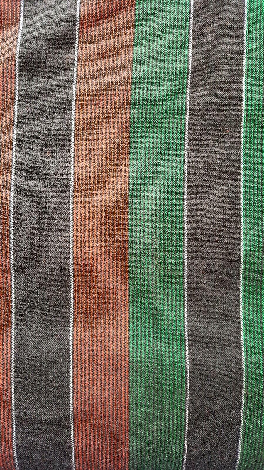 African Masai Maasai Tribal Shuka Throw Blanket Wrap Black