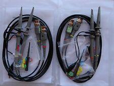 4 Four New 100mhz Oscilloscope Clip Probes For Hp Tektronix Hitachi