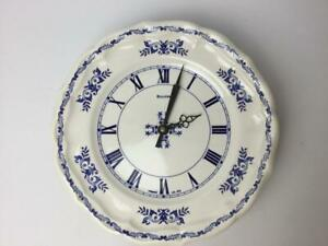 Sneaker white blue Wall clock 10 diameter