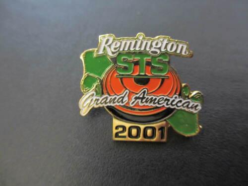 2001 REMINGTON GRAND AMERICAN 102ND ANNIVERSARY ATA TRAP SHOOTING LAPEL HAT PIN