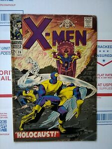 X-men-1966-26-HOLOCAUST-NICE-Marvel-Comic-xmen-x-men-26-NOV-1966
