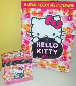 PANINI HELLO KITTY IS E' Album + BOX 50 packets bustine tuten DISPLAY figurine