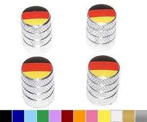 German-Flag-Germany-BMW-Wheel-Tire-Valve-Stem-Caps-Colors
