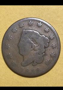 1 Lot599- 1819 Large Cent  1819 Coronet Cent