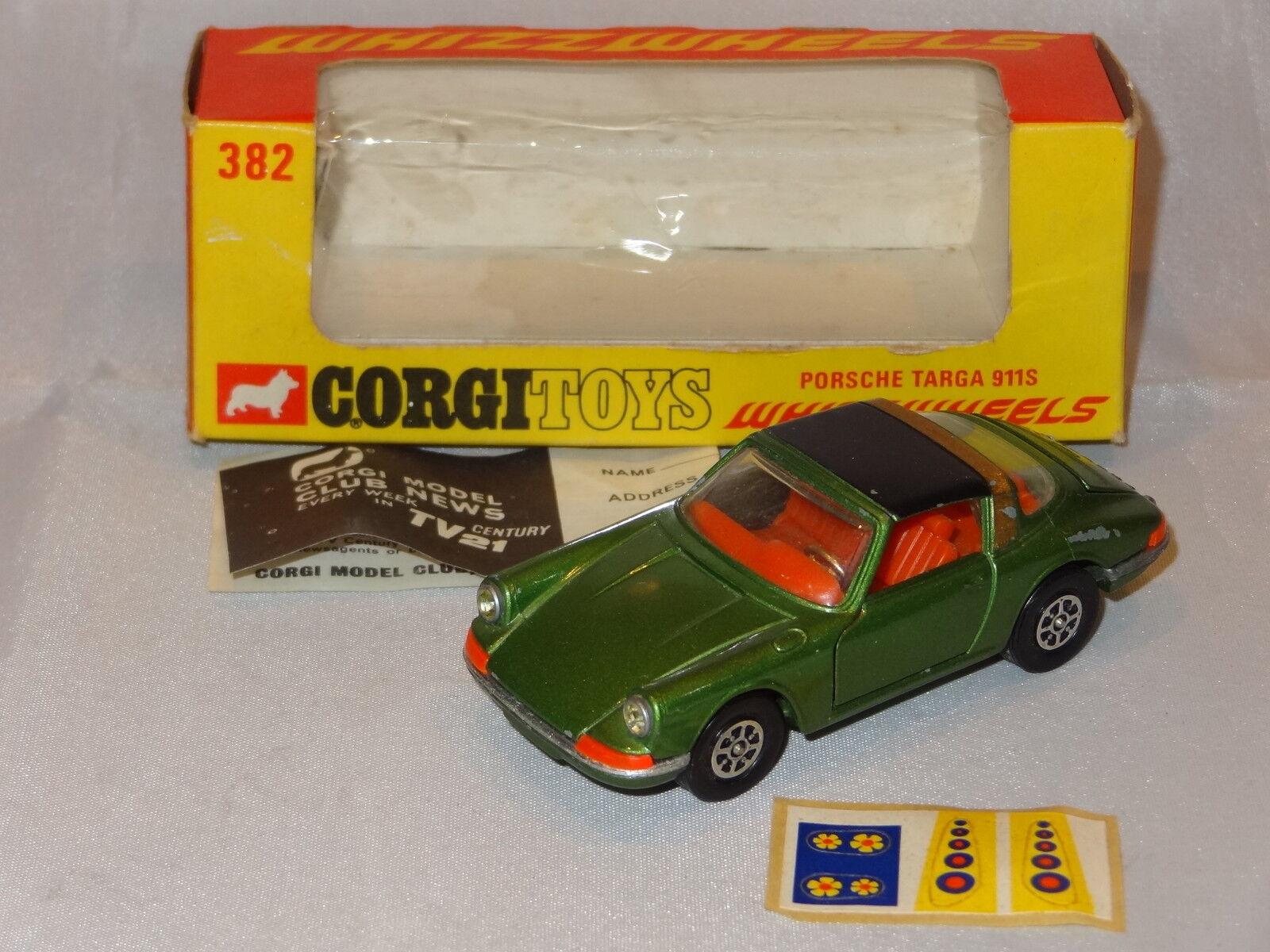 Corgi PORSCHE TARGA 911S - 382