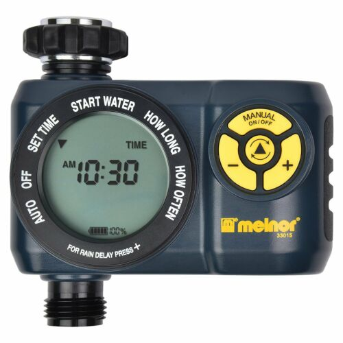 6 Cycle Melnor Digital Water Hose Timer