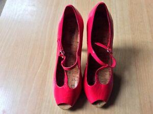 Faith Pink Shoes - High Heels
