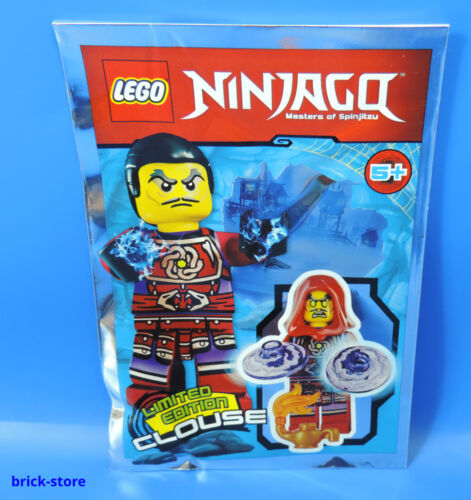 LEGO® Ninjago Figur 891610 Limited Edition Clouse mit Wunderlampe Polybag
