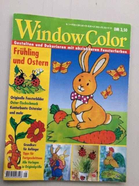 Window Color Frühling Und Ostern Malvorlagen Zeitschrift Basteln Malen