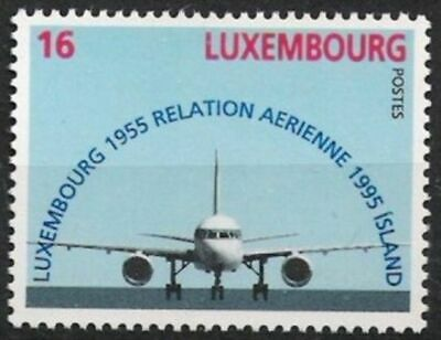 WohltäTig Luxemburg Nr.1374 ** Boeing 757 1995 Motive Luxemburg Postfrisch