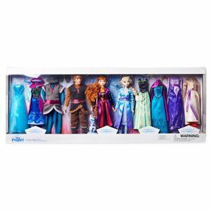 Disney-Store-Frozen-Fashion-Doll-Deluxe-Gift-Set-NEW