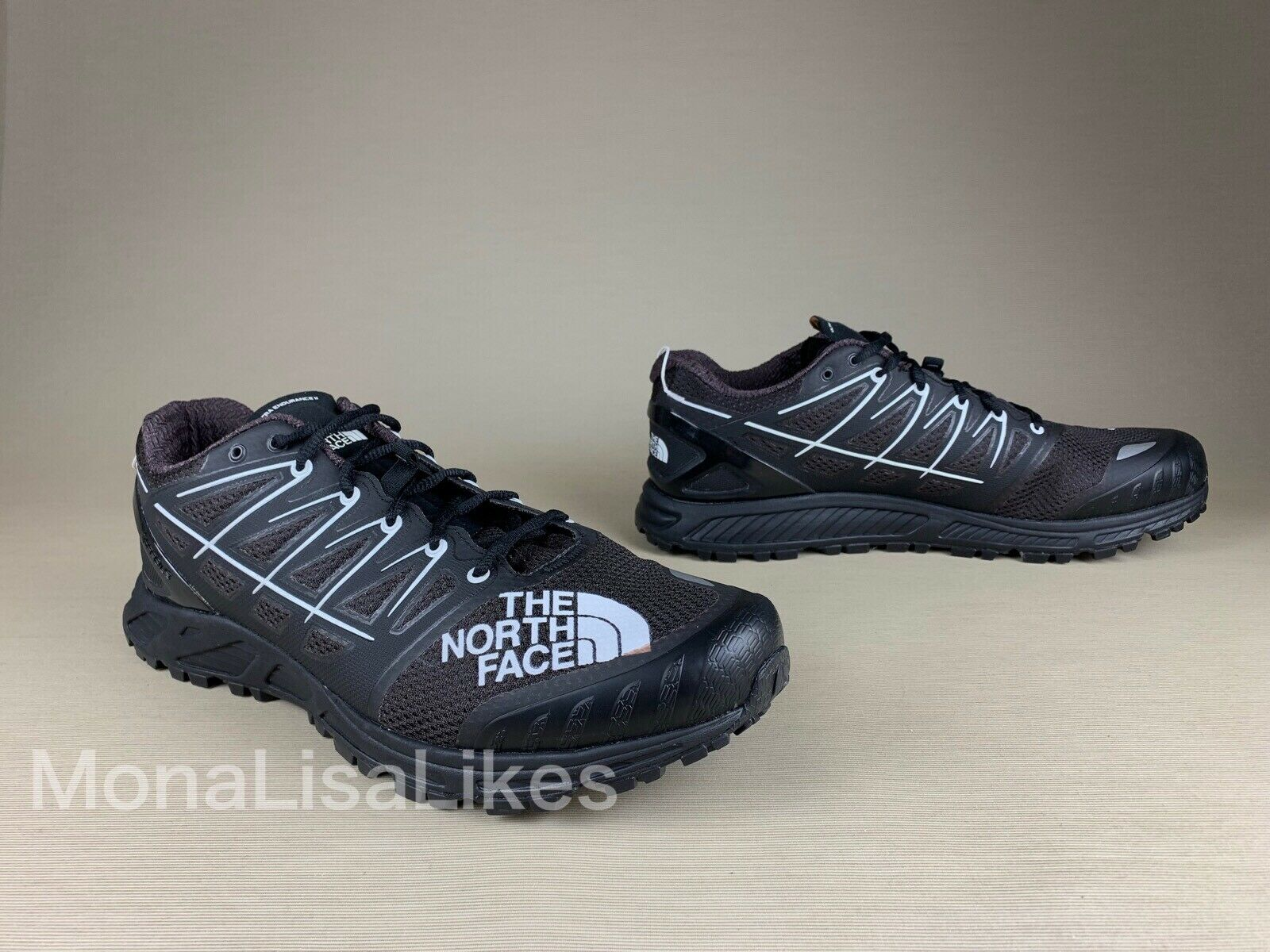 New THE NORTH FACE Ultra Endurance II Black Hiking shoes Sneakers 12