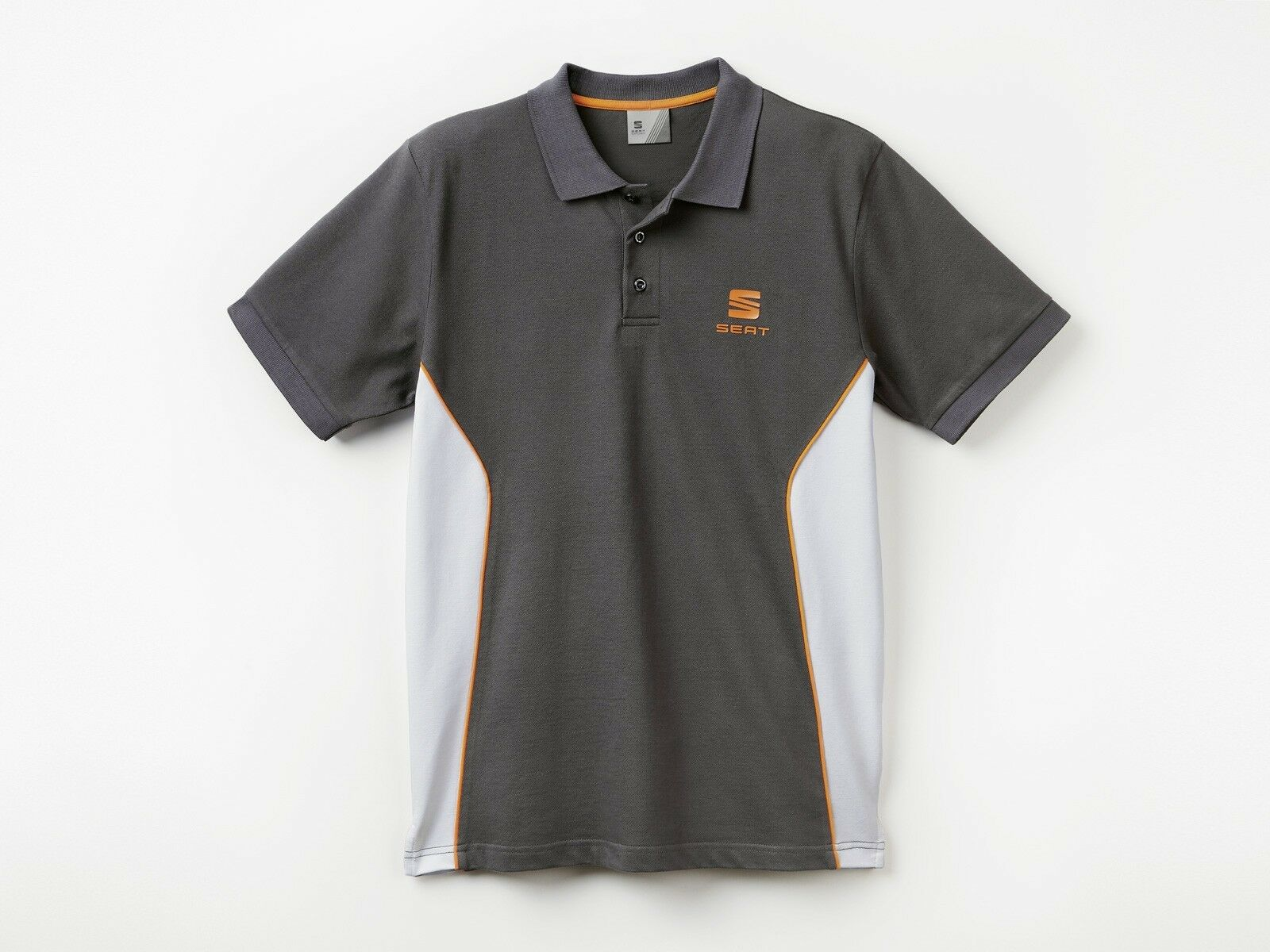 Genuine Seat Polo Shirt Men's Grey