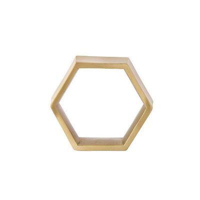 Ferm Living Serviettenringe Hexagon (4-teilig)