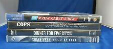Lot of 4 Television Show DVD Dinner of Five, Cops, Drew Carey, Shark Week