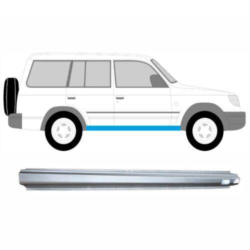 Links = Rechts Schweller Reparaturblech für Hyundai Galloper 1991-1998 5 Tür
