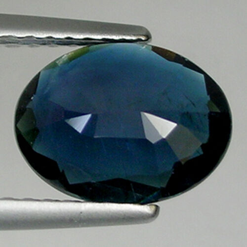 Details about  /1.56  Dull  LUSTER  BEAUTIFUL DEEP BLUE NATURAL TOURMALINE   Loose Gemstone 6C