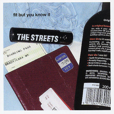 Fit But You Know It [Single] by The Streets (Producer) (CD, Apr-2004, LOCKED ON)